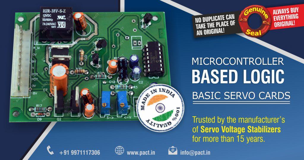 Servo Stabilizer Control PCB